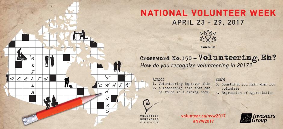 National Volunteer Week 2017
