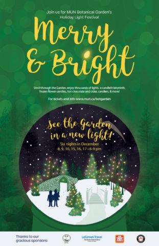 Merry & Bright Light Festival Logo