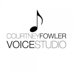 Courtney Fowler Voice Studio Winter Recital Series Logo