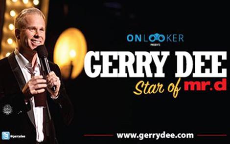 Gerry Dee Live Logo
