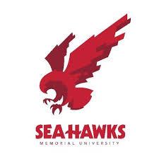 UNB Varsity Reds vs MUN Sea-Hawks (Men's Basketball) Logo