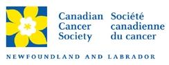 The Canadian Cancer Society Newfoundland and Labrador Division Logo